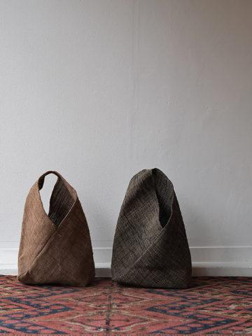シナ布のねじり袋